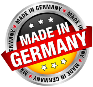 """""""Made in Germany"""" Button Banner"""
